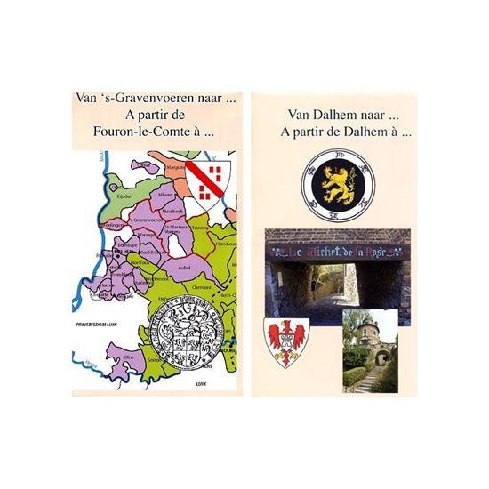 Wandelkaart 's-Gravenvoeren naar Dalhem