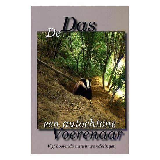 """Brochure """"De Das, een autochtone Voerenaar. Vijf boeiende natuurwandelingen"""""""