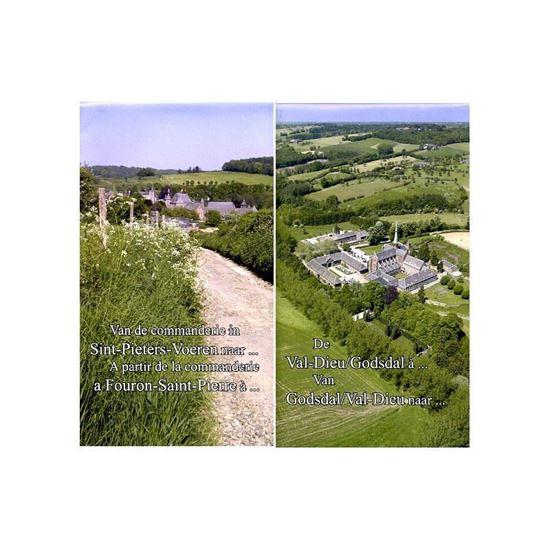 Wandelkaart St-Pieters-Voeren naar Val-Dieu