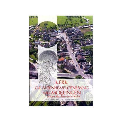 """Boek """"Kerk Moelingen en geschiedenis"""""""