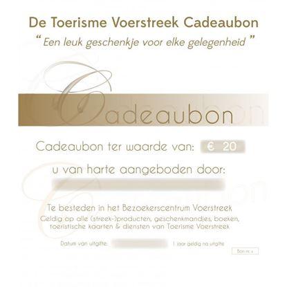 Cadeaubon t.w.v. EUR 20,00