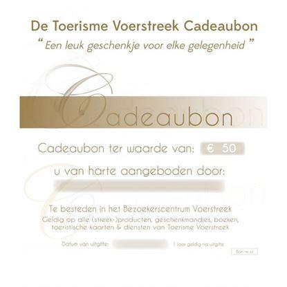 Cadeaubon t.w.v. EUR 50,00
